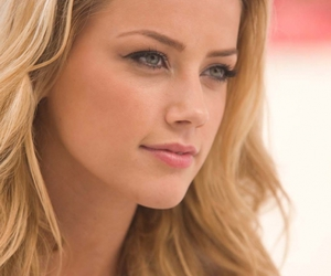 girl, amber heard, and blonde image