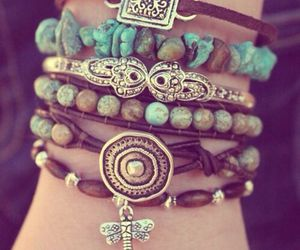 bracelet, boho, and accessories image
