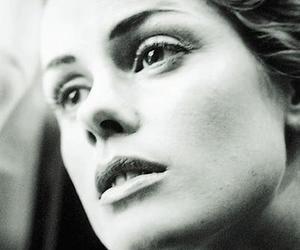 aqua, black and white, and singer image