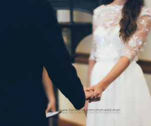 love, wedding, and couple image