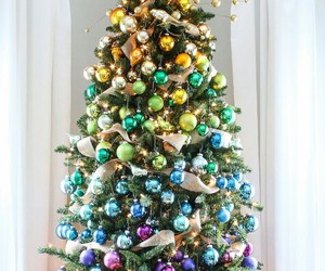 christmas, luxury, and christmas tree image