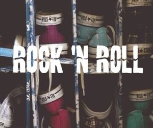 rock, converse, and rock n roll image