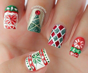 christmas, green, and cute image