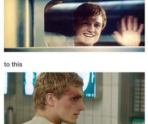 the hunger games, mockingjay, and cry image