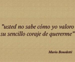 love, frases, and benedetti image
