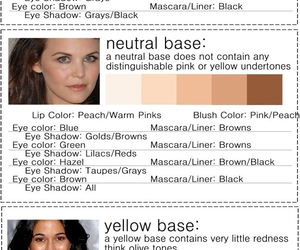 base, makeup, and neutral image