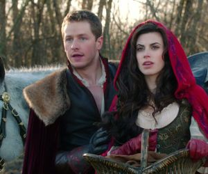 once upon a time, ruby, and charming image