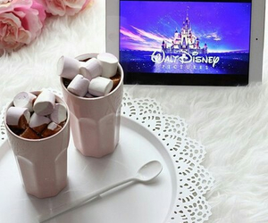 disney, marshmallow, and chocolate image