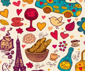 doodles, paris, and wallpaper image