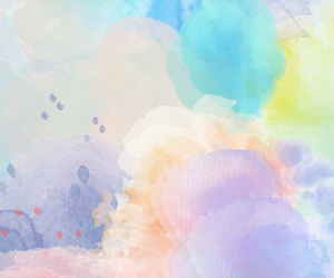 wallpaper, watercolor, and colors image