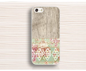 wood floral iphone 4 case, graceful iphone 4s case, and iphone 6 cover image