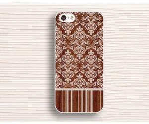 wood floral iphone 4 case, wood flower iphone 5 case, and iphone 6 case image