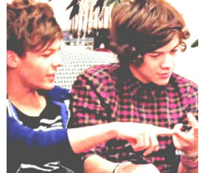 icon, larry, and louis tomlinson image