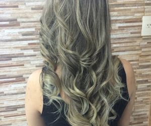 hair, cachos, and cabelo image