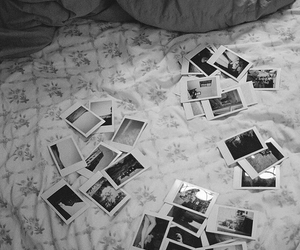 photo, vintage, and bed image