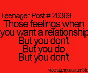 Relationship, feelings, and teenager post image