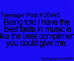 compliment, music, and told image