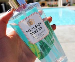 summer, pool, and perfume image