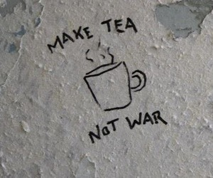 tea, war, and grunge image
