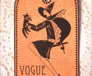 black, Halloween, and vogue image