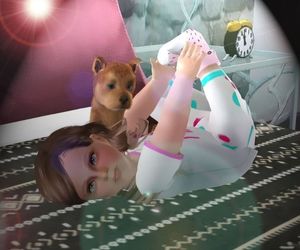 sims 3 and cute image