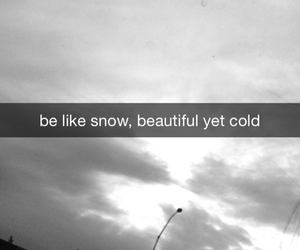 beautiful, quote, and cold image