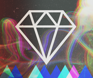 diamond, hipster, and song image