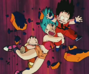 adventures, bulma, and kids image