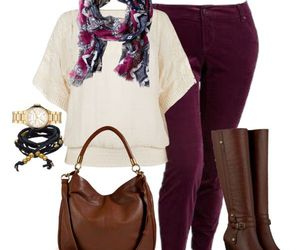 bolso, outfit, and botas image