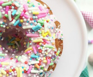 bakery, donut, and pastel image