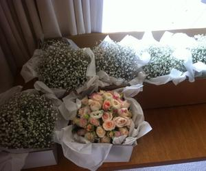 flowers, wedding bouquet, and wedding flowers image