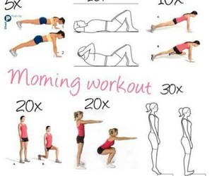 full body workout, quick workout, and quick morning workout image