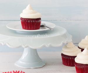 cupcake, red velvet, and cake image