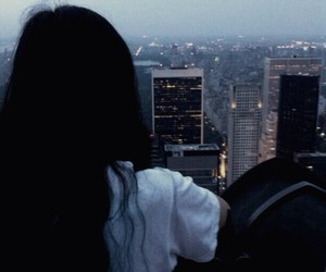city, girl, and places image