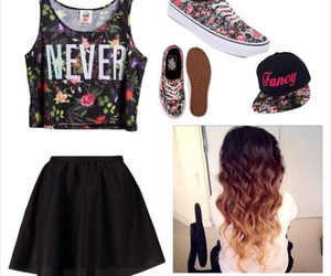hairstyles, vans, and cute outfits image