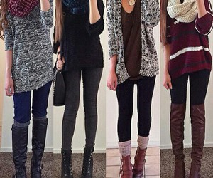 fabulous, winter outfit, and fashion image
