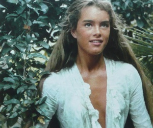 brooke shields, blue lagoon, and hair image