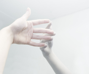 hands, white, and hand image