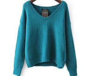 purple sweater, green sweater, and pink sweater image
