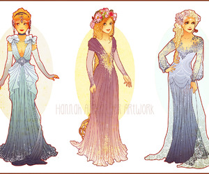disney, cinderella, and elsa image