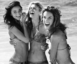 beach, swimsuit, and bikini image