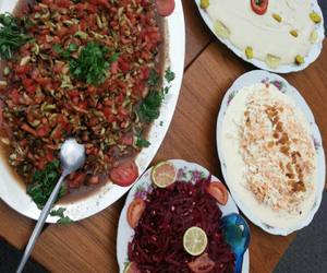 food, salad, and اكل image