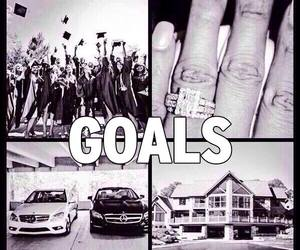 car, goals, and house image