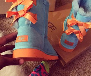 uggs, boots, and blue image