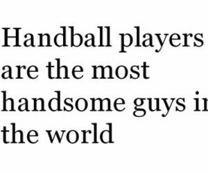 handball, boy, and guy image