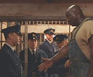 tom hanks, Stephen King, and the green mile image