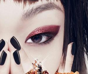 eyes, nails, and eyebrown image