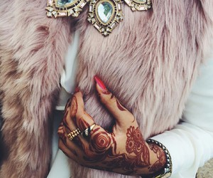 fashion, style, and henna image