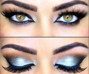 eyes, eyeshadow, and make up image