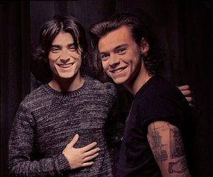 1d, zarry, and smile image
